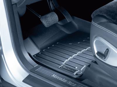 2010 Mercedes GL-Class All-Weather Floor Liner -3rd row