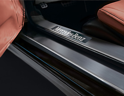 2011 Mercedes SL-Class Door sill panels - Illuminated