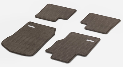2009 Mercedes GL-Class Carpeted Floor Mats - square pattern
