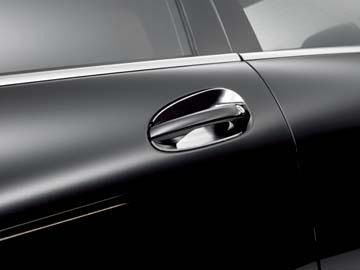 2013 Mercedes C-Class Sedan Chrome Door Handle Inserts 204-760-12-70 & Mercedes C-Class Sedan Chrome Door Handle Inserts 204-760-12-70