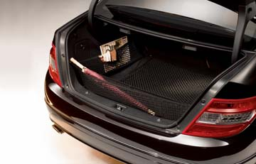 2015 Mercedes C-Class Coupe Luggage Net