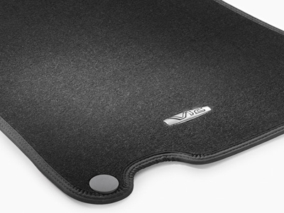 2011 Mercedes SL-Class Carpeted Floor Mats (Grey - complet 6-6-29-4193