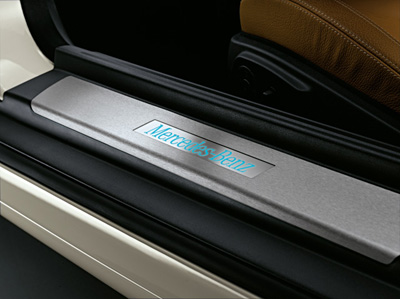 2011 Mercedes SLK-Class Door Sill Panels - Illuminated 6-6-89-0153