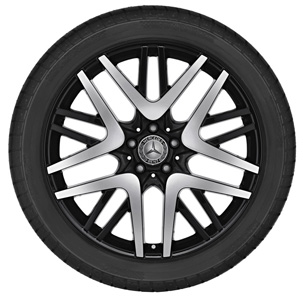 2011 Mercedes S-Class 20inch 2-Tone Multi-Spoke Wheel