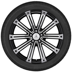 2010 Mercedes M-Class 20inch 2-Tone 10-Spoke Wheel 6-6-47-4528