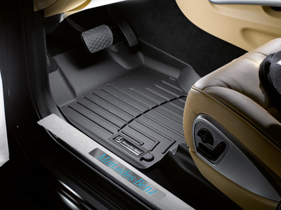 2009 Mercedes GL-Class All-Weather Floor Liners