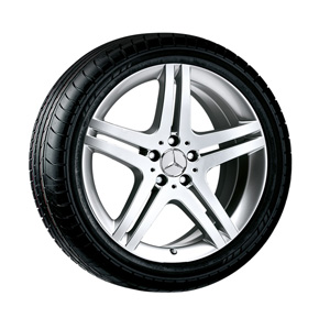 2011 Mercedes SL-Class 19inch 5-Spoke Wheel - Sterling 9.5