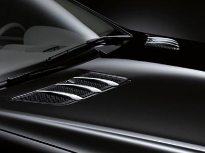 2009 mercedes gl class chrome hood fins 6 6 88 1302 for Mercedes benz gl450 chrome accessories
