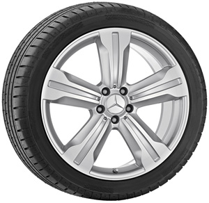 2013 Mercedes S-Class 20inch 5-Spoke Wheel