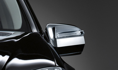 2010 Mercedes GL-Class Chrome Exterior Mirror Covers 6-6-88-1303