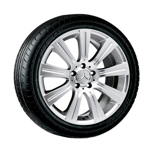 2012 Mercedes SL-Class 18inch 9-Spoke Wheel