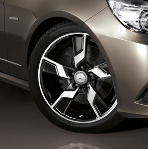 2011 Mercedes E-Class Wagon 18inch 5-Spoke Wheel - Black