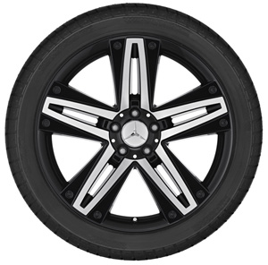 2012 Mercedes GL-Class 20inch 2-Tone 5-Double Spoke Wheel 6-6-47-4566