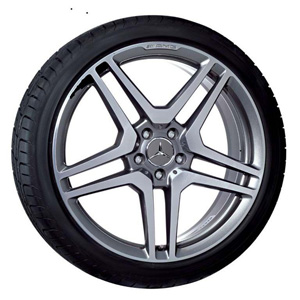 2012 Mercedes S-Class 20inch AMG 5-Twin Spoke Wheel - Grey
