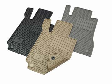 2011 Mercedes S-Class All-Season Floor Mat Set