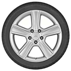 2015 Mercedes C-Class Coupe 17inch 5-Spoke Wheel (S 204-401-28-02-9709