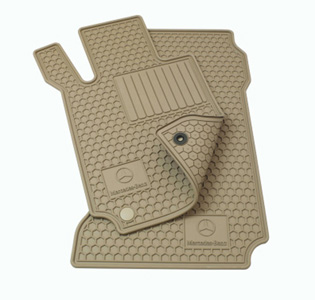 2009 Mercedes M-Class All-Season Floor Mat Set