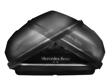 2012 Mercedes C-Class Coupe Roof Cargo Container - Large 000-840-39-62