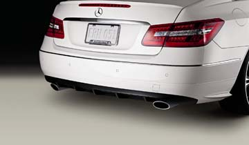 2012 Mercedes E-Class Coupe Rear Diffuser 207-880-00-08