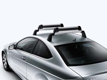 2014 Mercedes C-Class Coupe Basic Carrier Bars, Set of 2 204-890-05-93