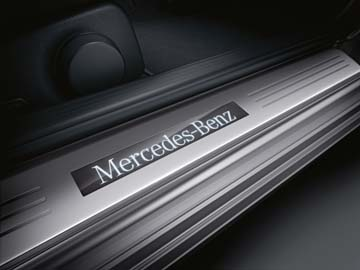 2015 Mercedes C-Class Coupe Illuminated Door Sills 204-680-55-35