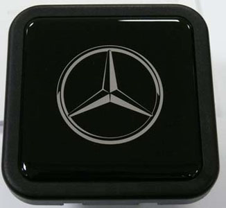 2016 Mercedes GL-Class Decorative Hitch Plug Q-6-31-0005