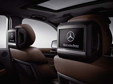 2015 Mercedes M-Class Rear Seat Entertainment