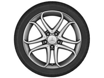 2015 Mercedes E-Class Coupe 18 inch 5-Twin Spoke Wheel
