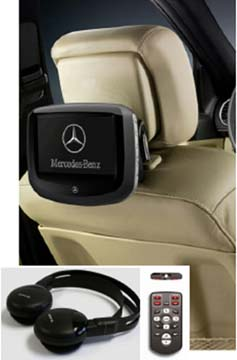 2015 Mercedes GL-Class Accessory Rear-Seat Entertainment 166-870-07-96