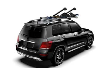 2014 Mercedes M-Class Ski and Snowboard Rack - Deluxe 000-890-03-93