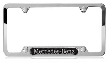 2013 Mercedes SLS-Class Mercedes-Benz Nameplate Frame (Car Q-6-88-0122