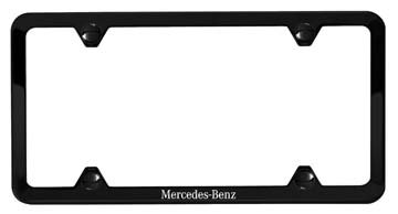 2017 Mercedes GLC-Class Slimline Frame (Black Powder Coat  Q-6-88-0125