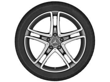 2017 Mercedes S-Class 18inch 5-Twin-Spoke Wheel