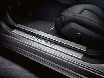 2014 Mercedes E-Class Wagon Illuminated Door Sill Panels
