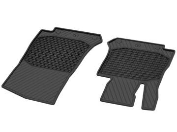 2017 Mercedes GLC-Class All-Season Floor Mats, Front 2-piece