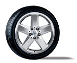 2006 Mercedes SLK-Class 17inch 5-Spoke Wheel