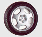 2000 Mercedes SLK-Class 5-Hole Wheel 6-6-47-4020