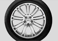2007 Mercedes S-Class Denebola  19inch 9-Twin-Spoke Wheel