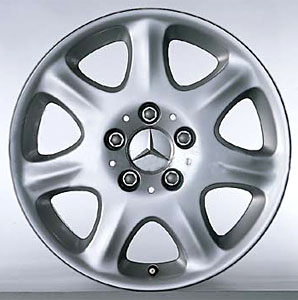 2003 Mercedes S-Class 7-Spoke Wheel 6-6-47-0544