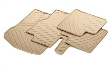 2008 Mercedes M-Class All-Season Floor Mat Set