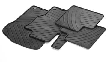2008 Mercedes S-Class All-Season Floor Mat Set