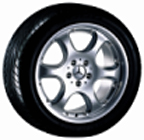 2000 Mercedes S-Class 6-Hole Wheel Two Piece Style A 6-6-47-1451