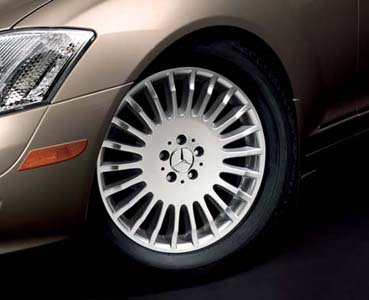 2009 Mercedes S-Class 19inch Multi-Spoke Wheel