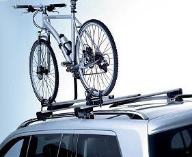 2008 Mercedes S-Class Bicycle Rack