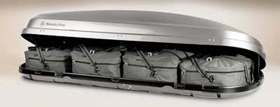 2008 Mercedes SLK-Class Luggage Set (for Small Roof Cargo Containers)