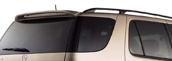 2000 Mercedes M-Class Abs Spoiler - Brilliant Silver Q-6-88-0082