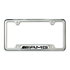 2007 Mercedes M-Class Amg Frame (Polished Stainless Steel) Q-6-88-0087