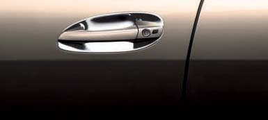 2007 Mercedes S-Class Chrome Door Handle Inserts (Set Of F Q-6-72-0006