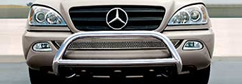 2004 Mercedes M-Class Composite Grille Guard