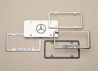 2012 Mercedes E-Class Wagon Slimline Frame (Curved Stainle Q-6-88-0103